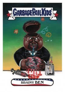 2016 Topps Garbage Pail Kids Presidential Trading Cards - Losers Update 40