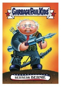 2016 Topps Garbage Pail Kids Presidential Trading Cards - Losers Update 37