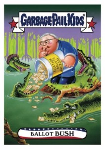 2016 Topps Garbage Pail Kids Presidential Trading Cards - Losers Update 39