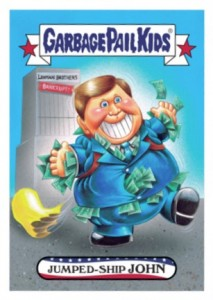 2016 Topps Garbage Pail Kids Presidential Candidate New Hampshire John Kasich