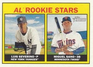 2016 Topps Heritage Baseball Cards 25