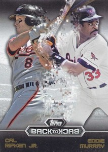 2016 Topps Series 1 Baseball Back to Back