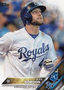 2016 Topps Series 1 Baseball Base Alex Gordon