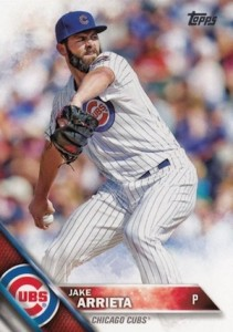 2016 Topps Series 1 Baseball Base Arrieta