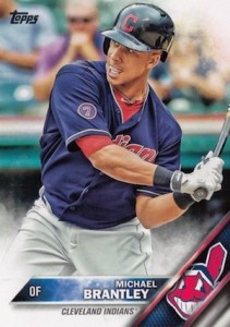 2016 Topps Series 1 Baseball Base Brantley
