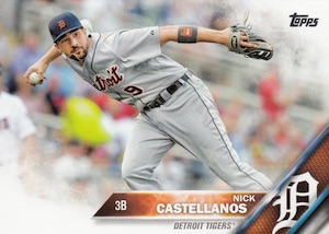 2016 Topps Series 1 Baseball Base Castellanos