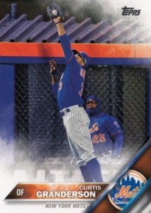 2016 Topps Series 1 Baseball Base Granderson