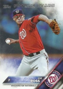 2016 Topps Series 1 Baseball Base Joe Ross