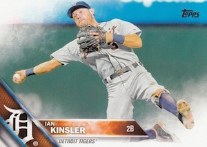 2016 Topps Series 1 Baseball Base Kinsler