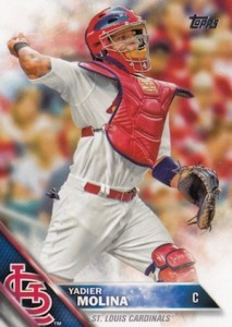 2016 Topps Series 1 Baseball Base Molina