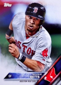 2016 Topps Series 1 Baseball Base Mookie Betts