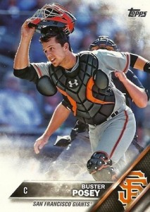 2016 Topps Series 1 Baseball Base Posey