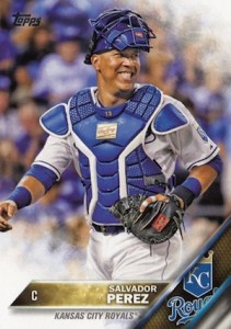 2016 Topps Series 1 Baseball Base Salvador Perez