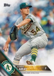 2016 Topps Series 1 Baseball Base Sonny gray