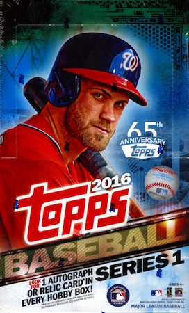 2016 Topps Series 1 Baseball Cards 50