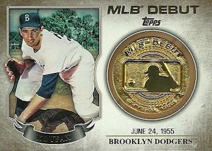 2016 Topps Series 1 Baseball MLB Debut Medallion