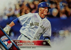 2016 Topps Series 1 Baseball Variation Short Prints Guide, Checklist 68