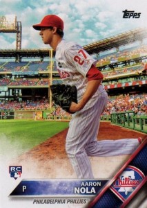 2016 Topps Series 1 Baseball Variations Nola