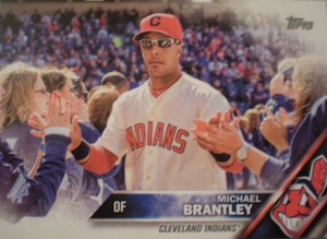 2016 Topps Series 1 Baseball Variations SSP Brantley