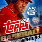 2016 Topps Series 1 Baseball Cards