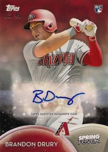 2016 Topps Spring Fever Baseball Cards - Updated Print Runs 25