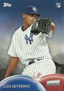 2016 Topps Spring Fever Baseball Base Luis Severino