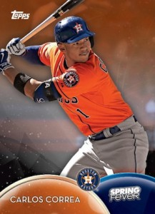 2016 Topps Spring Fever Baseball Cards - Updated Print Runs 1