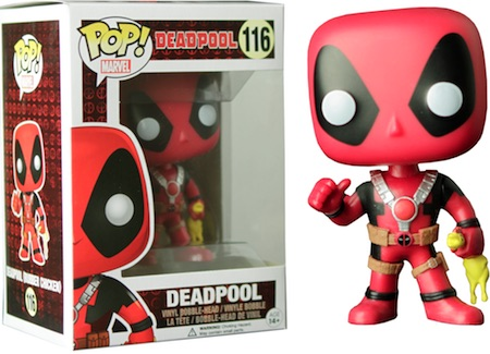 Funko Pop Deadpool 116 Rubber Chicken