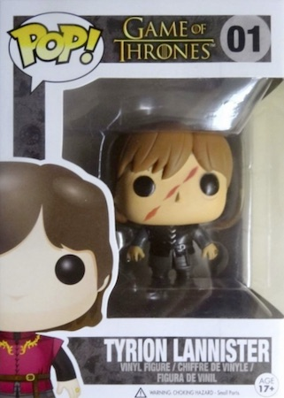 Funko Pop Game of Thrones 01 Tyrion Scar Popcultcha
