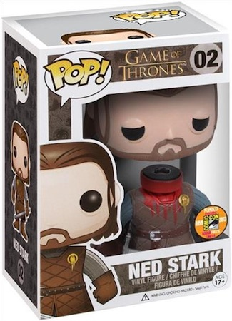 Funko Pop Game of Thrones 02 Headless Ned Stark