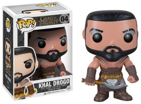 Funko Pop Game of Thrones 04 Khal Drogo