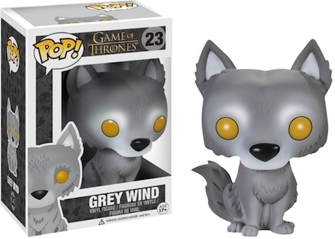 Funko Pop Game of Thrones 23 Grey Wind