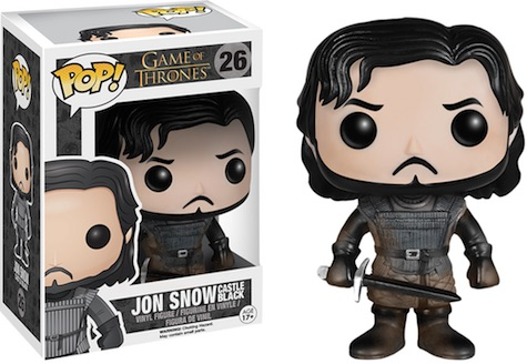 Funko Pop Game of Thrones 26 Muddy Jon Snow Castle Black