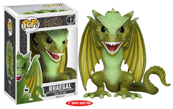 Funko Pop Game of Thrones 47 Rhaegal 6inch Super Sized Pop
