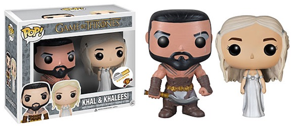 Funko Pop Game of Thrones Khal Khaleesi Wedding