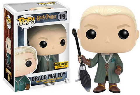 Funko Pop Harry Potter 19 Quidditch Draco Malfoy Hot Topic