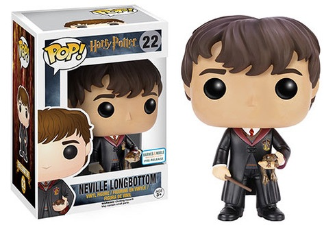 Funko Pop Harry Potter 22 Neville Longbottom Barnes Noble Pre-Release