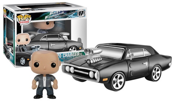 Funko Pop Rides 1970 Charger with Dom Fast Furious