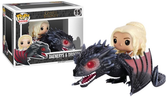 Funko Pop Rides Game of Thrones 15 Daenerys and Drogon 2-Pack