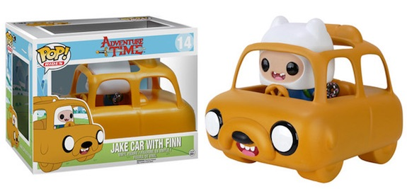 Funko Pop Rides Jake Car with Finn Adventure Time