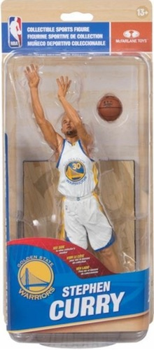 McFarlane 28 NBA Stephen Curry White 1