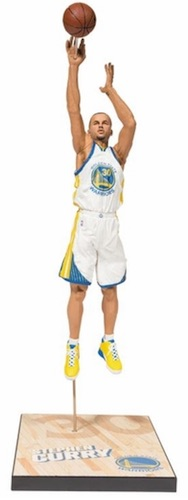 McFarlane 28 NBA Stephen Curry White