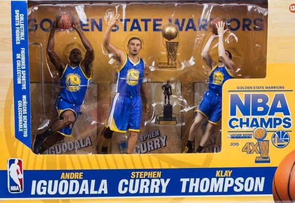 2015 McFarlane Golden State Warriors Champions NBA Sports Picks Figures 1