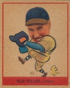 1938 Goudey Bob Feller #264