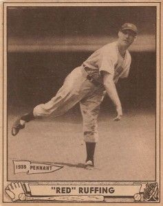 1940 Play Ball Red Ruffing#10