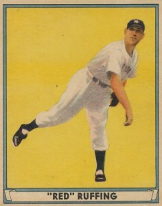 1941 Play Ball Red Ruffing #20