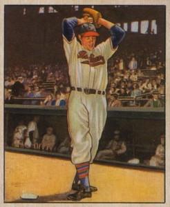 1950 Bowman Bob Feller #6