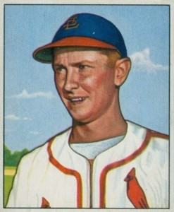 1950 Bowman Red Schoendienst #71