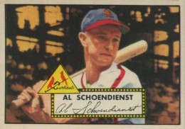 Top 10 Red Schoendienst Baseball Cards 8