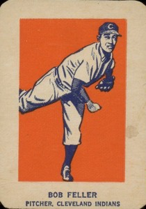 1952 Wheaties Bob Feller Pitching